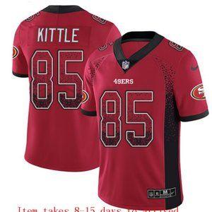 San Francisco 49ers #85 George Kittle Drift Jersey